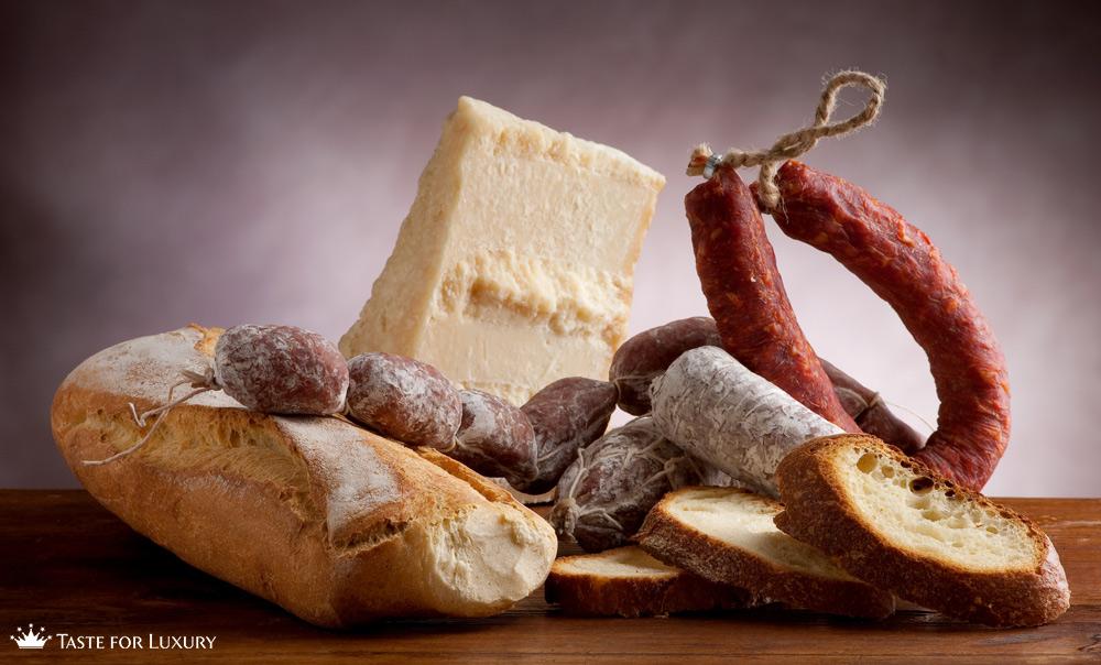 Italian Charcuterie, cured meat